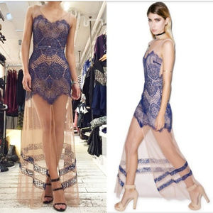 FOR LOVE AND LEMONS Antigua Dress SMALL NWT